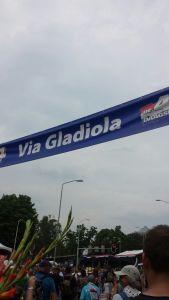 via gladiola